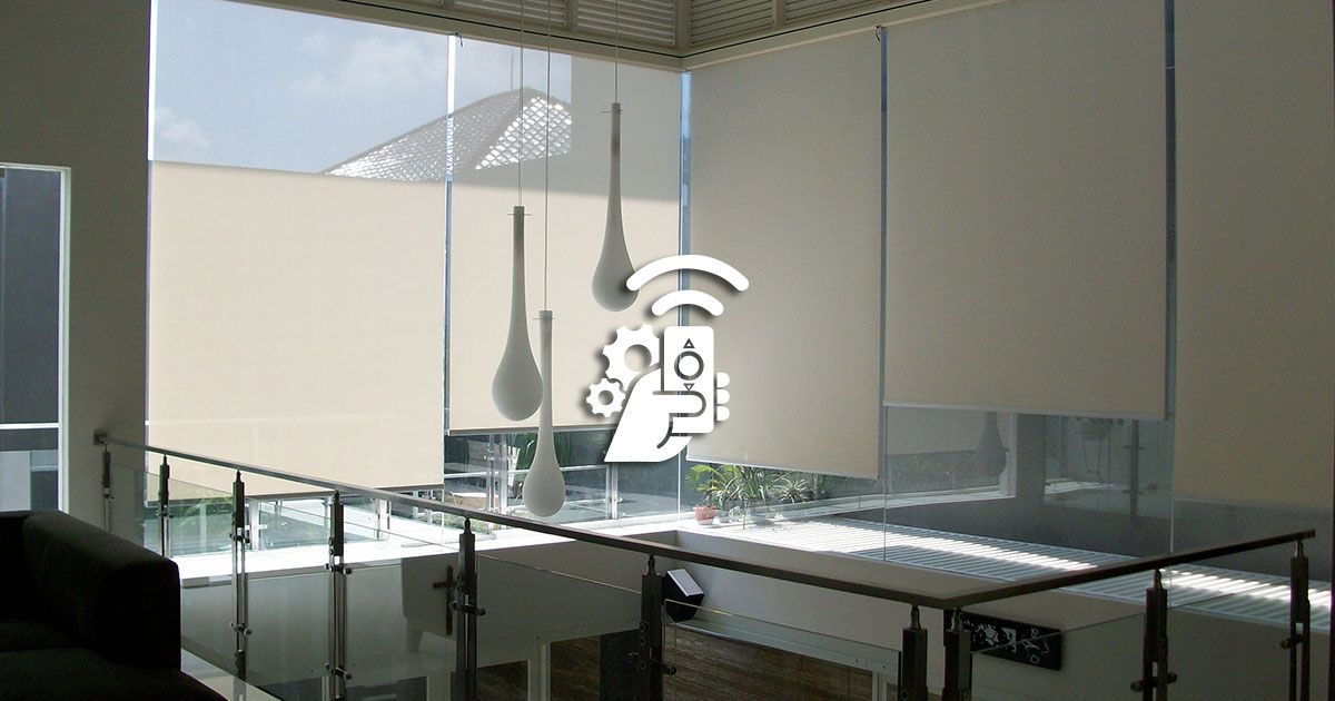 Motorised Roller Blinds Solar